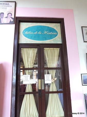 Entrance Salon de la Historia Nacional de Cuba 02-02-2014 12-17-57
