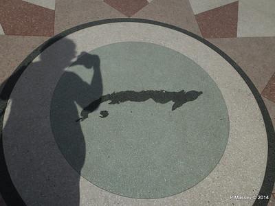 Cuba Map Gardens Hotel Nacional de Cuba 31-01-2014 18-45-19