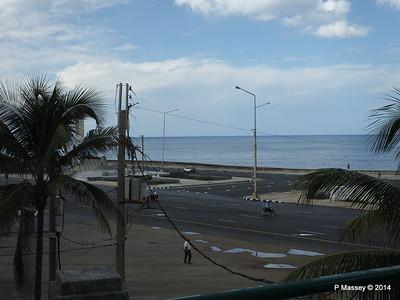 West to Malecon from Nacional de Cuba 31-01-2014 18-55-05