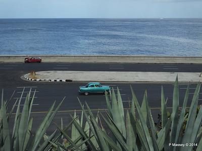 The Malecón from Gardens Nacional de Cuba 31-01-2014 18-44-20