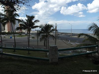 West to Malecon from Nacional de Cuba 31-01-2014 18-54-44