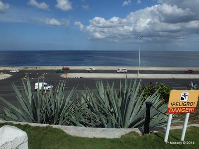 The Malecón from Gardens Nacional de Cuba 31-01-2014 18-44-38