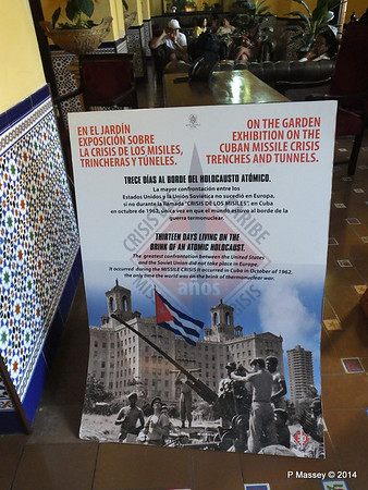 Exhibition on the Cuban Missile Crisis Trenches and Tunnels 02-02-2014 08-45-17
