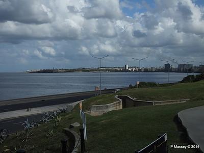 The Malecón from Gardens Nacional de Cuba 31-01-2014 18-43-41