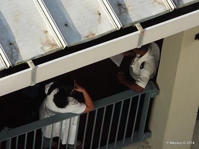 Havana Cruise Terminal Officals 10-02-2014 08-25-30