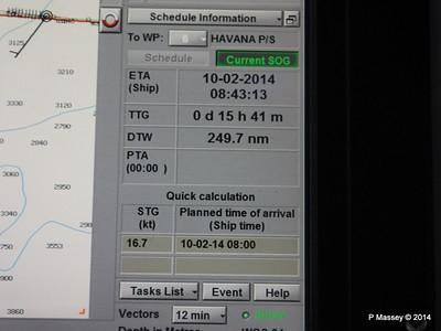 LOUIS CRISTAL Bridge Schedule information position 09-02-2014 17-03-43