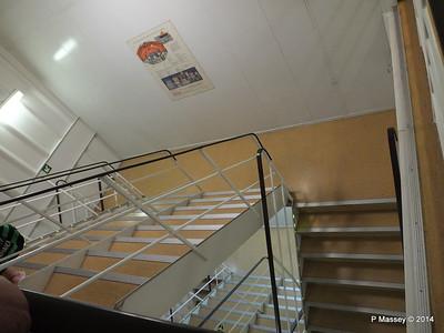 LOUIS CRISTAL Fwd Crew Stairwell 09-02-2014 16-39-10