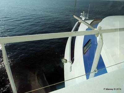 LOUIS CRISTAL Port Bridge Wing over bow 09-02-2014 16-44-40