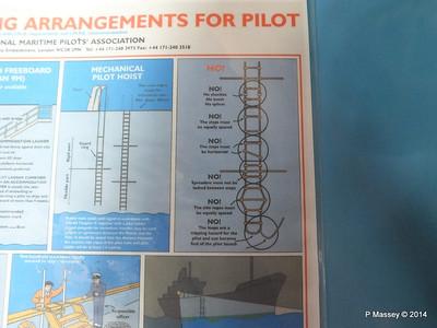 LOUIS CRISTAL Bridge Pilot Boarding Arrangements 09-02-2014 17-11-39
