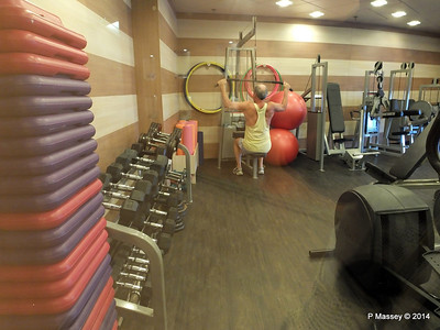 LOUIS CRISTAL Sana Health Spa Fitness Room 06-02-2014 07-04-16