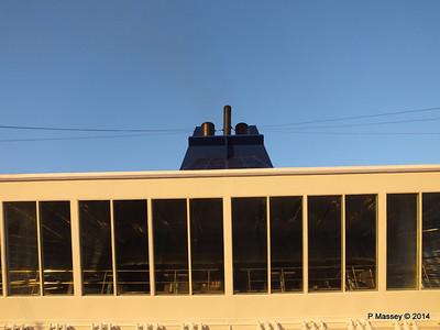 Stars Lounge Sunrise Approaching Santiago de Cuba 06-02-2014 06-44-26