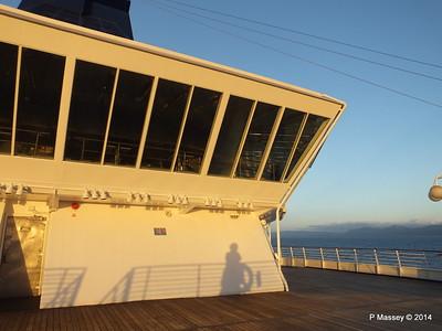 Stars Lounge Sunrise Approaching Santiago de Cuba 06-02-2014 06-44-36