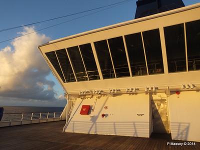Stars Lounge Sunrise Approaching Santiago de Cuba 06-02-2014 06-44-30