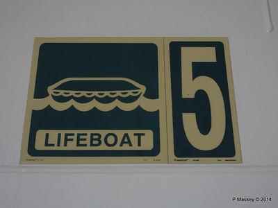 LOUIS CRISTAL Starboard Promenade Lifeboat 04-02-2014 15-55-44
