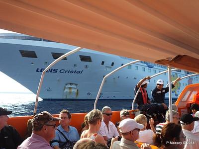 LOUIS CRISTAL on the Tender Punta Frances 09-02-2014 09-23-52