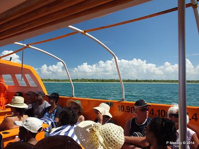 LOUIS CRISTAL on the Tender Punta Frances 09-02-2014 12-49-53