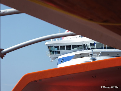 LOUIS CRISTAL on the Tender Punta Frances 09-02-2014 09-24-48