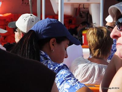 LOUIS CRISTAL on the Tender Punta Frances 09-02-2014 09-29-02