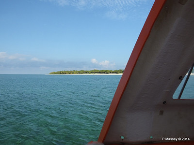 LOUIS CRISTAL Approaching Punta Frances on Tender 09-02-2014 09-33-47