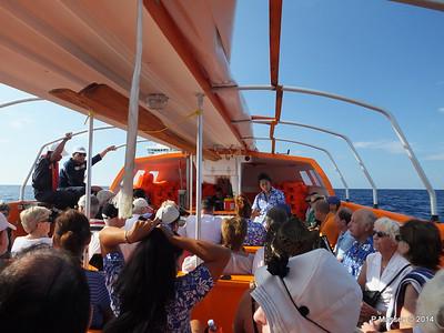 LOUIS CRISTAL on the Tender Punta Frances 09-02-2014 09-24-39