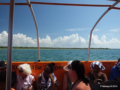 LOUIS CRISTAL on the Tender Punta Frances 09-02-2014 12-49-31