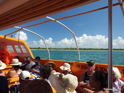 LOUIS CRISTAL on the Tender Punta Frances 09-02-2014 12-49-26