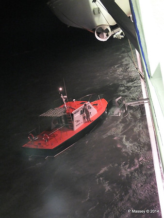 Pilot Launch Departure from Antilla 05-02-2014 18-43-24