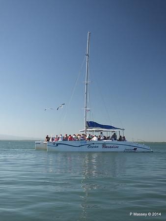 CAYO SABINAL departing Antilla 05-02-2014 09-36-02