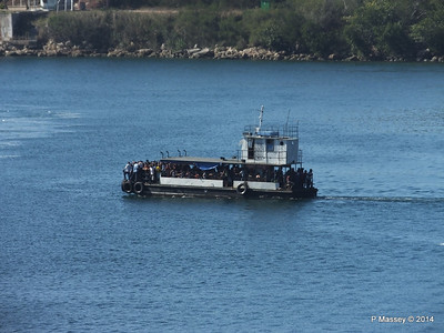 Maria Luisa crossing the Pasacaballos Strait 08-02-2014 10-12-054