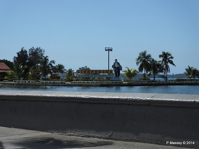 Cienfuegos Sign from the Malecón 08-02-2014 12-27-12