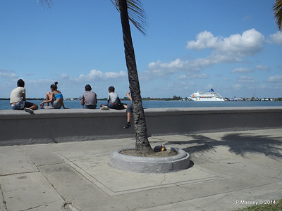 Cycle Rickshaw Tour Part 1 Cienfuegos 8 Feb 2014