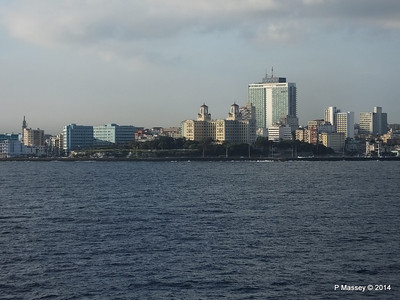 Havana Skyline approaching the Bay 10-02-2014 08-01-28