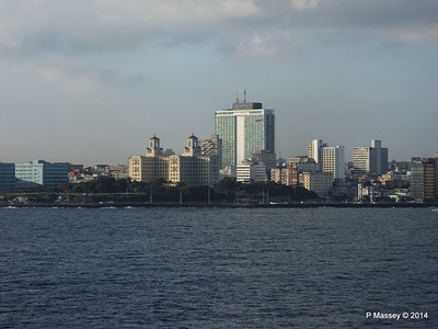 Havana Skyline approaching the Bay 10-02-2014 08-01-22
