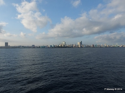 Havana Skyline approaching the Bay 10-02-2014 08-02-15