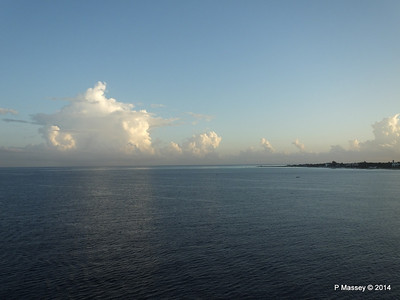Clouds Approaching Montego Bay 07-02-2014 07-02-15