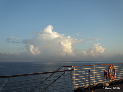 Clouds Approaching Montego Bay 07-02-2014 07-01-24