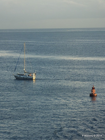 Sailing Yacht on Approach to Montego Bay 07-02-2014 07-10-37