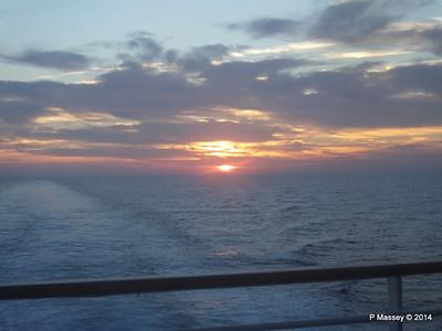 LOUIS CRISTAL Sunrise Approaching Isla de la Juventud 09-02-2014 07-11-00