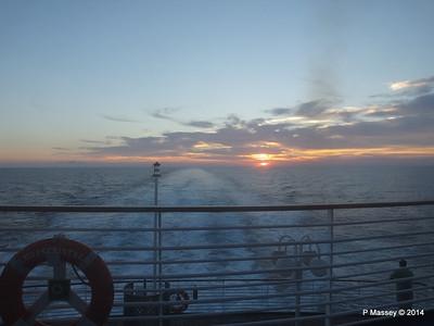 LOUIS CRISTAL Sunrise Approaching Isla de la Juventud 09-02-2014 07-11-05