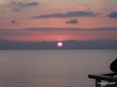Sunrise & Sunset Punta Frances 9 Feb 2014