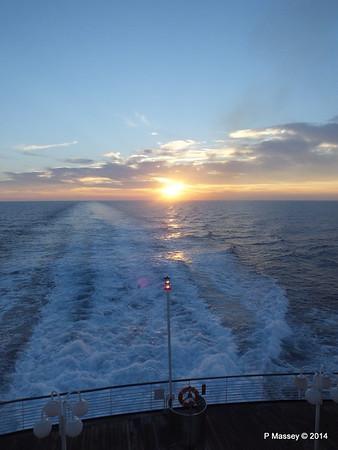 LOUIS CRISTAL Sunrise Approaching Isla de la Juventud 09-02-2014 07-17-00