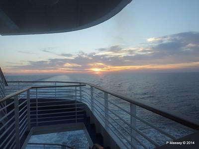 LOUIS CRISTAL Sunrise Approaching Isla de la Juventud 09-02-2014 07-11-45