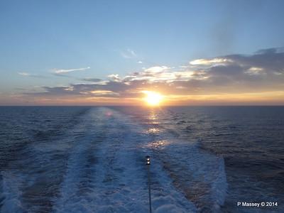 LOUIS CRISTAL Sunrise Approaching Isla de la Juventud 09-02-2014 07-17-14