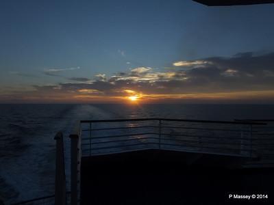 LOUIS CRISTAL Sunrise Approaching Isla de la Juventud 09-02-2014 07-16-06