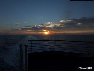 LOUIS CRISTAL Sunrise Approaching Isla de la Juventud 09-02-2014 07-16-14