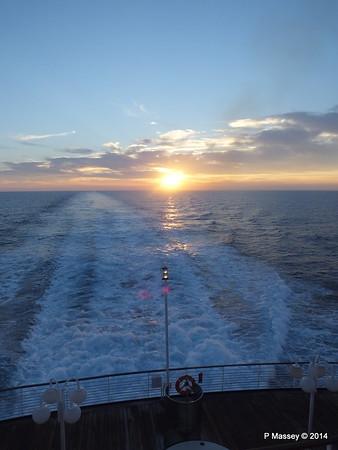 LOUIS CRISTAL Sunrise Approaching Isla de la Juventud 09-02-2014 07-17-03