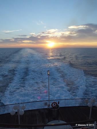 LOUIS CRISTAL Sunrise Approaching Isla de la Juventud 09-02-2014 07-17-06
