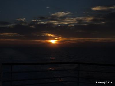 LOUIS CRISTAL Sunrise Approaching Isla de la Juventud 09-02-2014 07-16-11