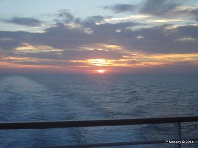 LOUIS CRISTAL Sunrise Approaching Isla de la Juventud 09-02-2014 07-10-54