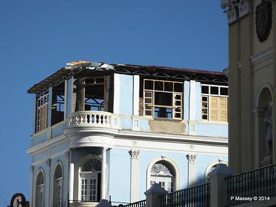 Cubatur office under renovation Heredia y General Lacret Santiago de Cuba 06-02-2014 15-58-51